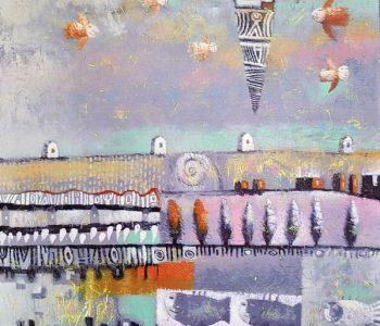 Выставка живописи Павла Николаева «Белое облако»