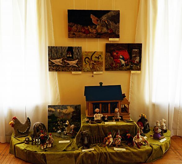 Выставка «Деревенские посиделки»