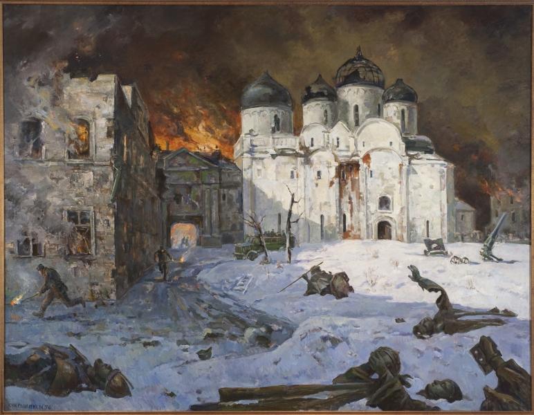 Выставка «Новгородская земля в годы Великой Отечественной войны, 1941 – 1945 гг.»